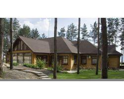 Деревянные дома от 100 до 300 м2